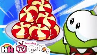 Best Of Om Nom Stories: Om Nom Cooking Time   Cut the Rope   Funny Cartoons   HooplaKidz TV