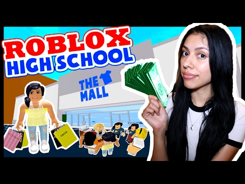GIRLS TRIP TO THE MALL! - ROBLOX HIGH SCHOOL