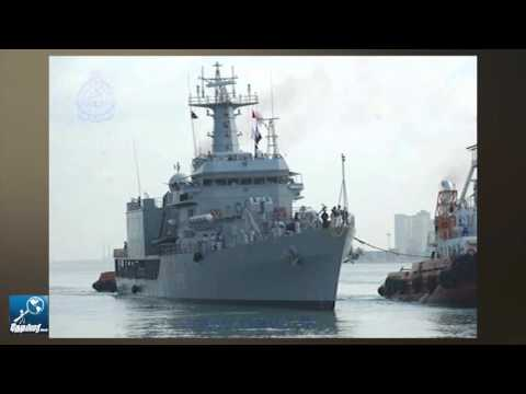 Indian Naval Ships Arrive at Colombo