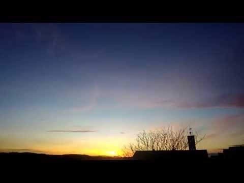 Sunset time lapse, Böblingen, Deutschland Germany