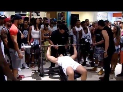 Campeonato de Supino - Sales Suplementos/Campos dos Goytacazes - Cobertura da Extreme Fitness