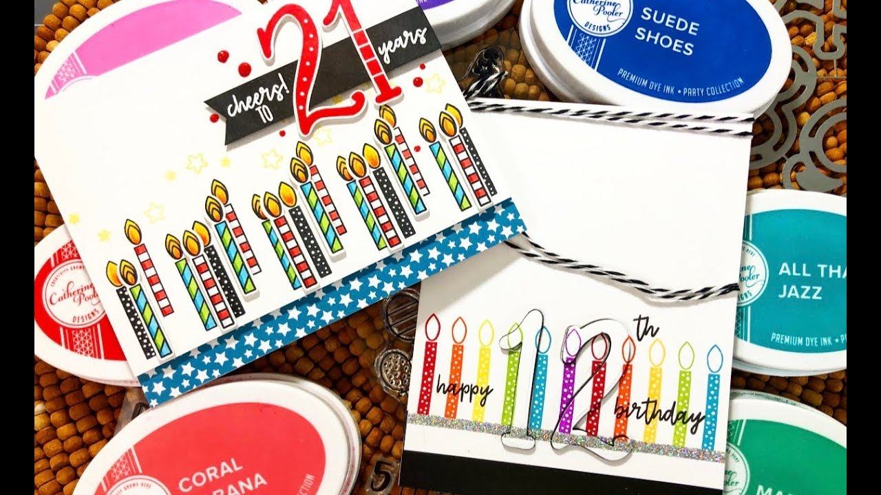 Cake Confetti Collection Reveal Birthday Card Making