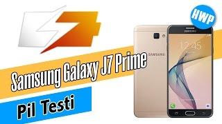 Samsung Galaxy J7 Prime Pil Testi
