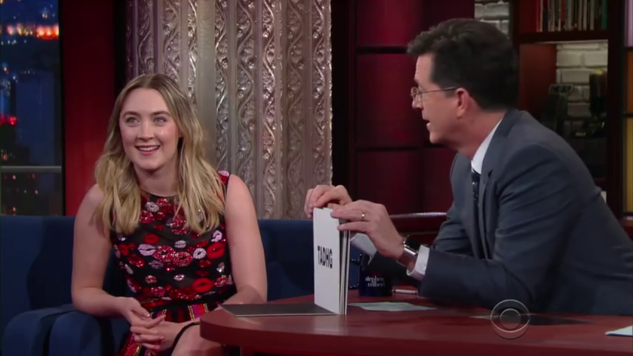 How to Pronounce Tadhg (with Saoirse Ronan)