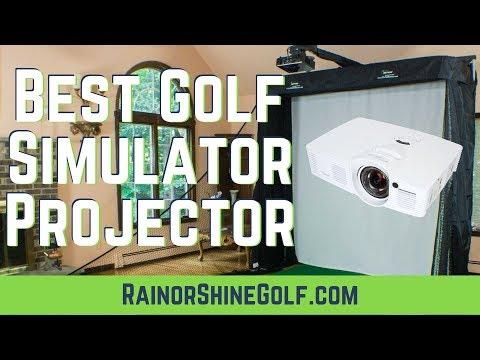 Best Golf Simulator Projectors - Ultimate Short Throw