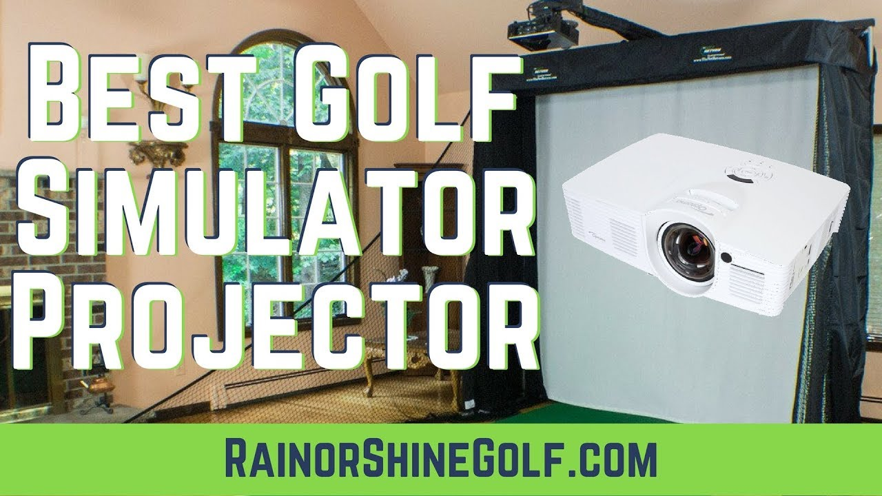 Best Golf Simulator Projector Guide Best Short Throw Projector For Skytrak And Optishot