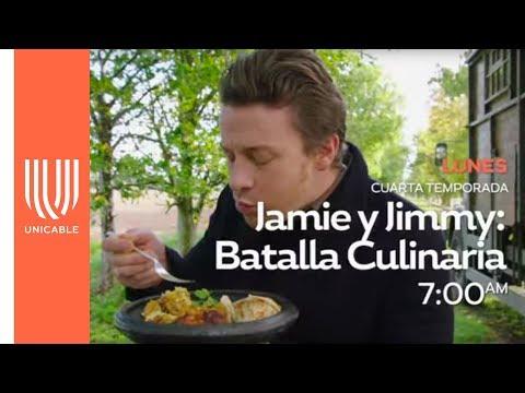 Jamie y Jimmy: Grandes recetas  Este lunes - Unicable