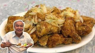 Cách Làm Cánh Gà Chiên Nước Mắm Ngon Và Dễ ★ Fry Chicken Wings with Fish Sauce