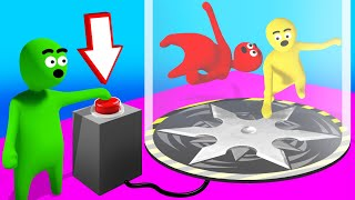PUTTING My FRIENDS In A BLENDER! (Gang Beasts)