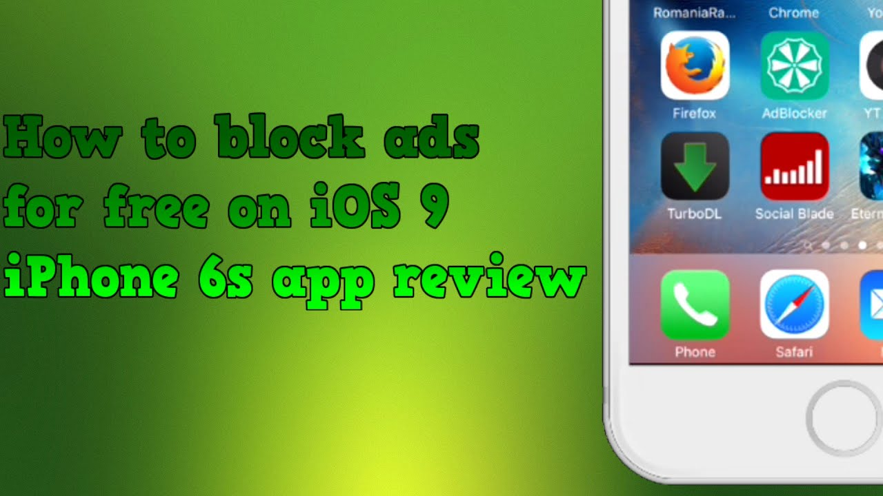 block ads iphone how to block ads for free on ios 9 safari iphone 6s 5513