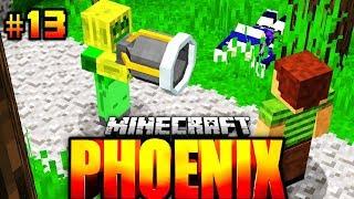 Der -1000% XXL RAKETENWERFER?! - Minecraft Phoenix #013 [Deutsch/HD]