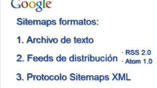 Herramientas para Webmasters - Parte 3 - Sitemaps