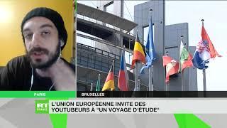 Pour Grégory Tabibian l'invitation de l'Union européenne à des youtubeurs n'a rien de surprenant