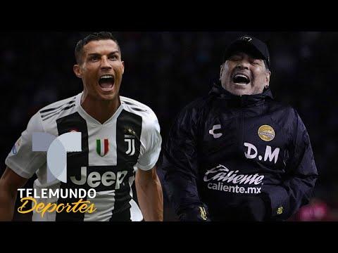 Maradona: 'Cristiano Ronaldo es un brujo, está tocado por la varita mágica' | Telemundo Deportes