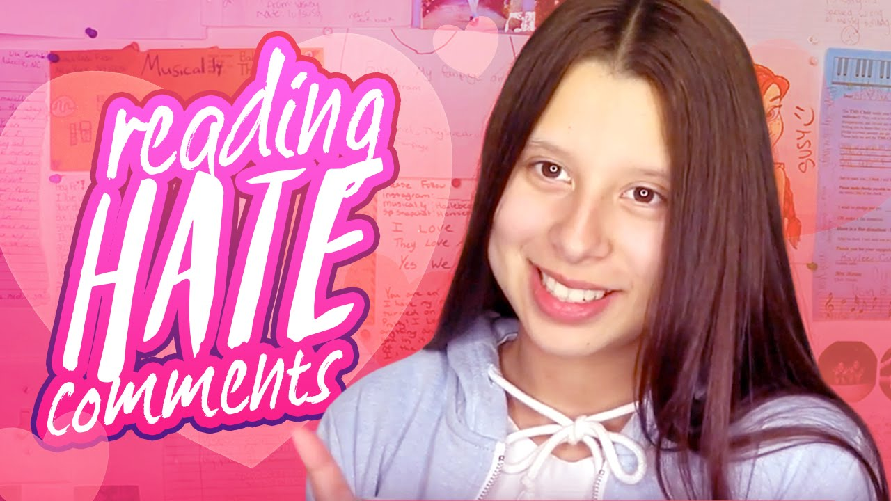 REACTING TO HATE COMMENTS | Baby Ariel - YouTube