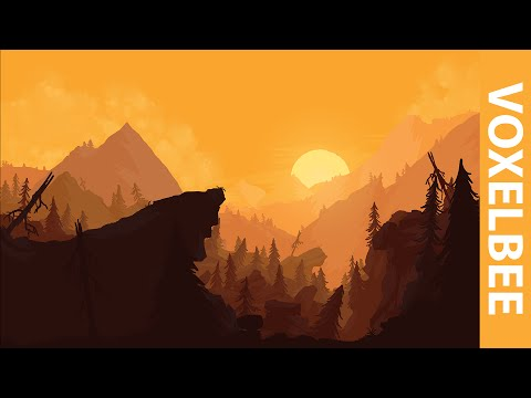 Mountain Forest – Speed Painting | Photoshop