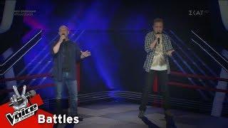 Θωμάς Σκοτίδας vs Πάνος Κατσιγιάννης - Γαρύφαλλε | 4o Battle | The Voice of Greece