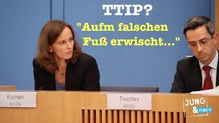 """TTIP & Bundesregierung: """"Aufm falschen Fuß erwischt"""""""