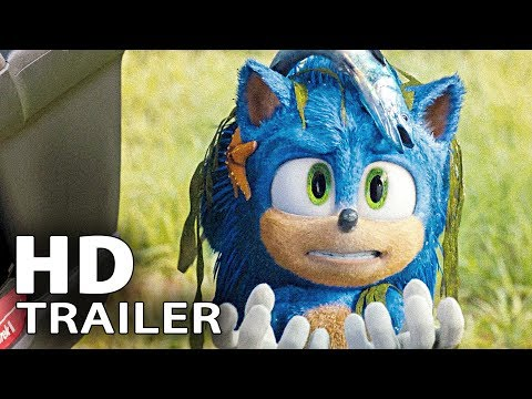SONIC THE HEDGEHOG All Clips + Trailers (2020)