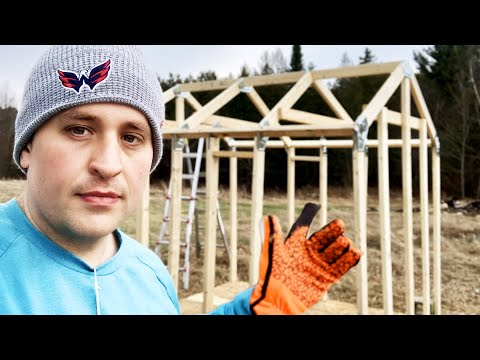 A Shed You Can Build in a Few Hours (Timelapse) 2×4 Basics EZ Shed Build