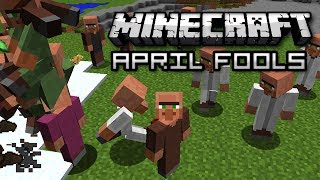 Minecraft: APRIL FOOLS VILLAGER INVASION SNAPSHOT