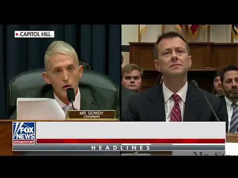 Chairman Gowdy discusses the bias of FBI Agent Peter Strzok on Hannity