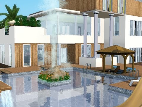 sims 3 haus bauen neues haus f r familie meier haus mit meerblick 2. Black Bedroom Furniture Sets. Home Design Ideas