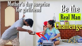 *Surprising her* Be the Real Man Challenge- Taking care of my Girlfriend on mothers day-DIML RJvlogs