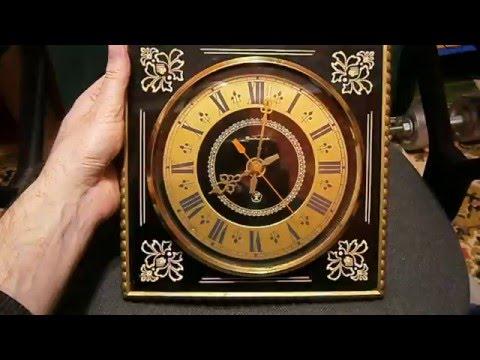 Часы Янтарь кварцевые винтажные