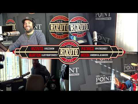 Patrico takes TTTT (Two To The Tush) with the studio bb gun! [Rizzuto Show]