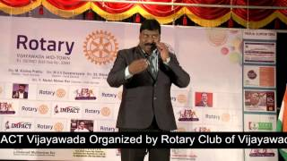 GOOD HABITS Topic by  Gampa Nageshwer Rao at Vijayawada IMPACT 2014