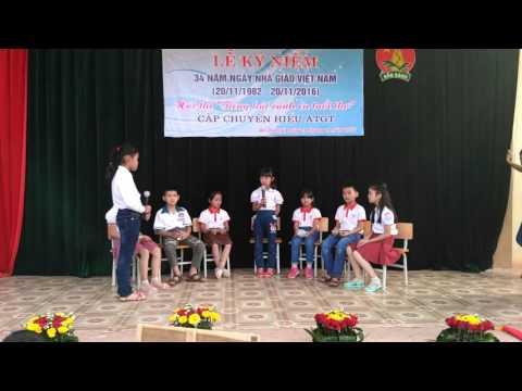 Sinh hoạt Sao Nhi Đồng lớp 3A Trường tiểu học An Dương 1, Tân Yên, Bắc Giang