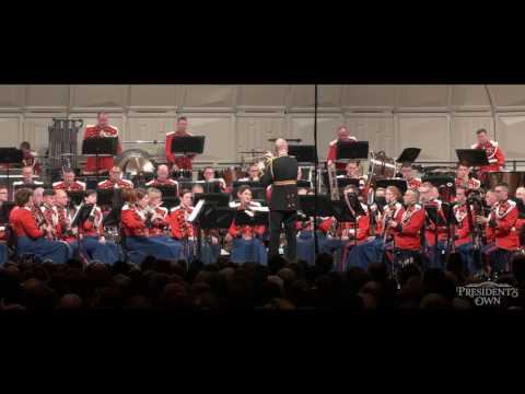 "STEPHENSON Symphony No. 2,  Voices, Mvt 1 - ""The President's Own"" United States Marine Band"
