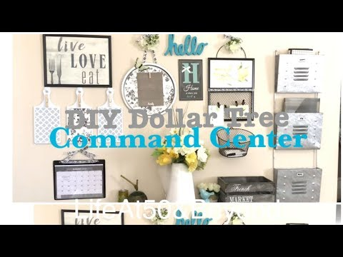 DOLLAR TREE DIY FAMILY COMMAND CENTER GRAND FINALE TOUR & WALKTHROUGH