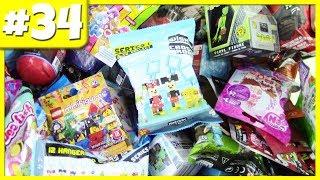 Zufällige Blind Bag Eröffnung #34 - Shopkins, Roblox Celebrity Series 2, Disney, Minecraft Aufhänger & MEHR!