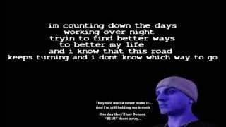 Denace - Better Days (Lyrics On Screen)