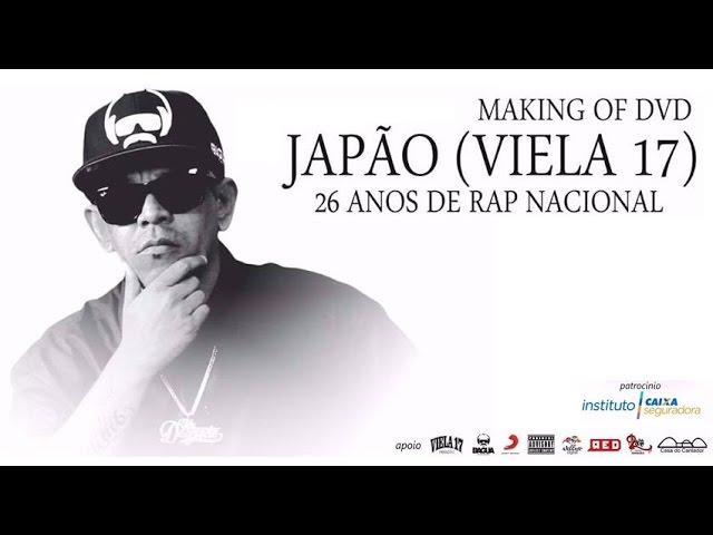 Making Of - DVD Japão - 26 anos de Rap Nacional