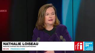 Pour Nathalie Loiseau, «il faut des solutions d'urgence et un débat sur l'avenir de Mayotte»