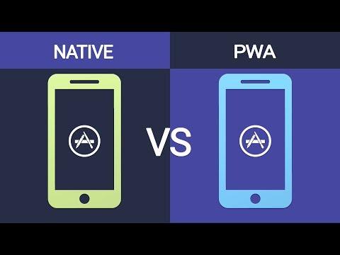 PWAs Vs Native (aka There's A Progressive Web App For That)