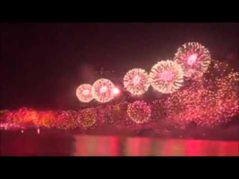 Fireworks mark national anniversaries - Dauer: 96 Sekunden