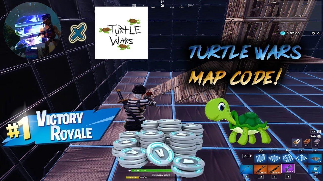 Fortnite Battle Royale: Turtle Wars *CREATIVE CODE!* (link in desc )
