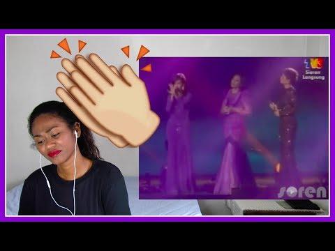 Shila Amzah, Jaclyn Victor, Ning Baizura - 3 Suara   Beribu Sesalan (AJL 26)   Reaction