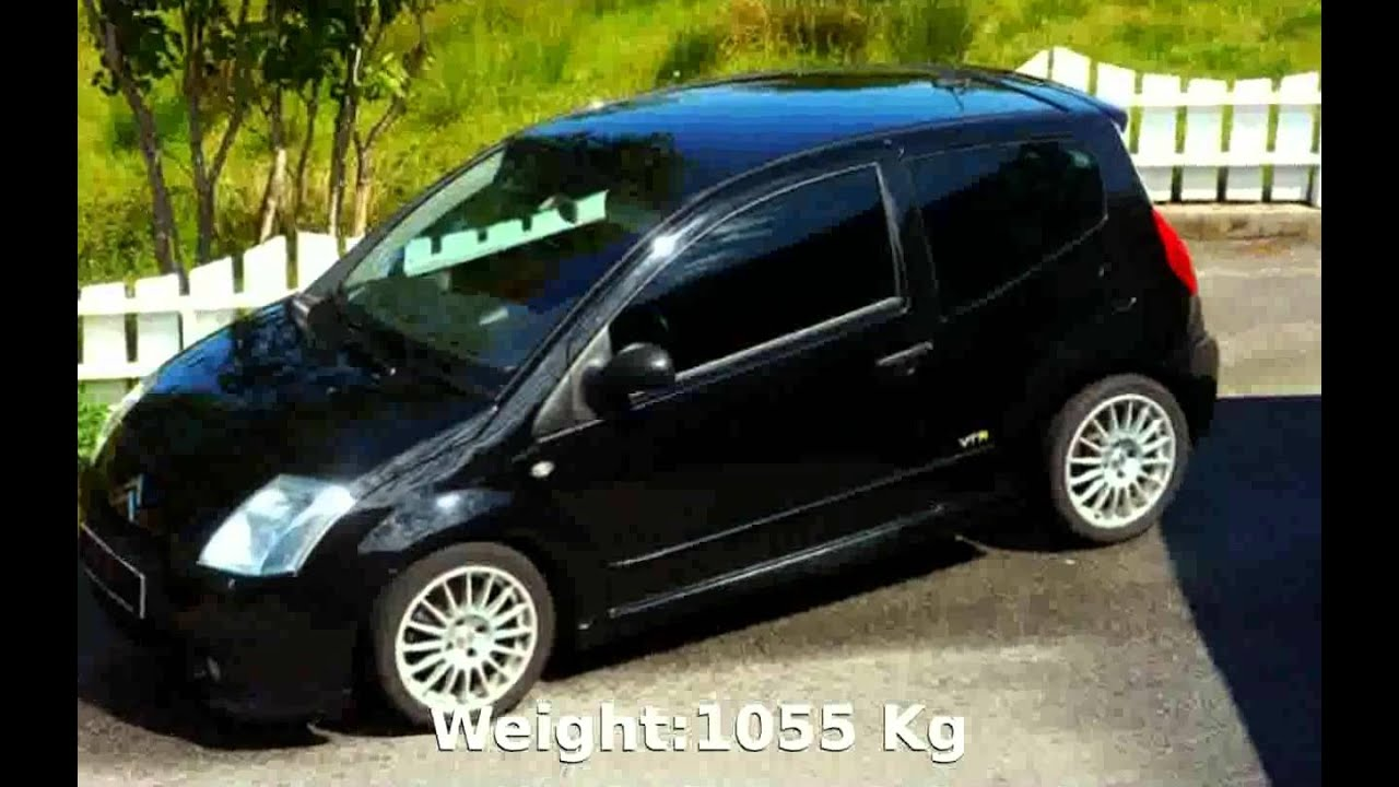 2002 Citroen C2 16 VTR  Info and Specification  YouTube