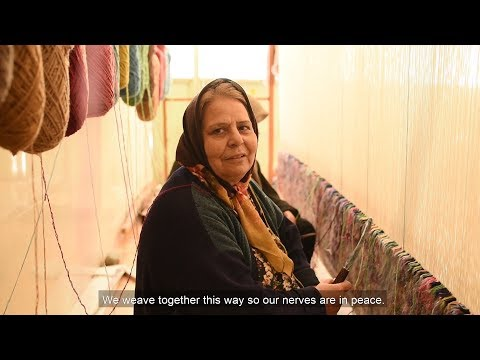 """The Woven Sounds"" -  Demo documentary by Mehdi Aminian on Pattern Singing - Persian Carpets"