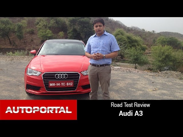 Audi A3 Test Drive Review - Autoportal