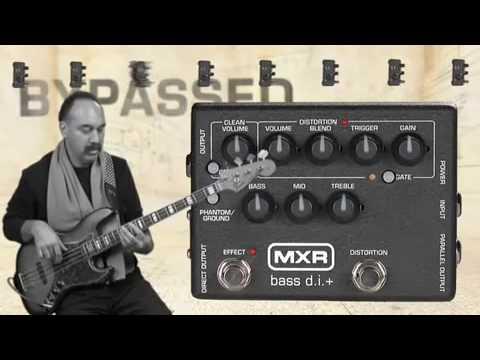 MXR Bass D.I.+ Pedal Video Demo