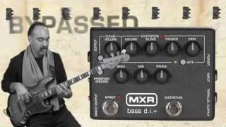 MXR Bass D.I.+ Pedal Video Demo