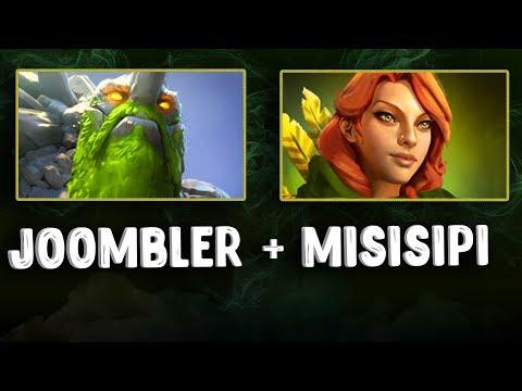 видео: misisipi + joombler | tiny + windranger Связка на Маг прокаст в игре Дота 2