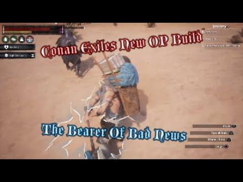Conan Exiles OP Build The Bearer Of Bad News |
