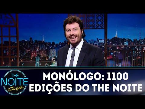 Monólogo: 1100 edições do The Noite | The Noite (20/06/18)